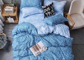 Комплект постельного белья семейный поплин 1757