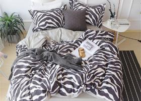 Комплект постельного белья семейный поплин 1758
