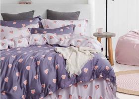 Комплект постельного белья семейный поплин 1776