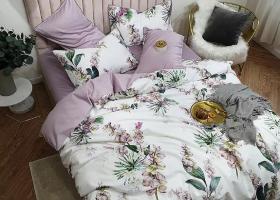 Комплект постельного белья семейный поплин 1807