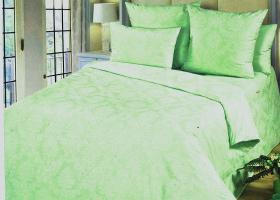 Комплект постельного белья евро поплин Цитрин