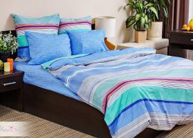 Комплект постельного белья евро поплин без молнии Стиль