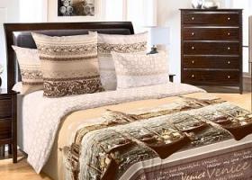 Комплект постельного белья 2сп перкаль Венеция