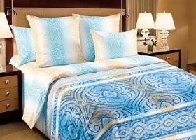 Комплект постельного белья семейный перкаль Фантазия