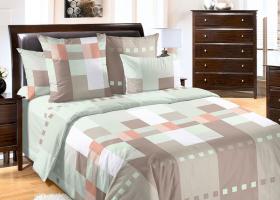 Комплект постельного белья семейный сатин Комильфо
