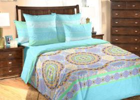 Комплект постельного белья евро перкаль Сансара