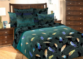 Комплект постельного белья 2сп перкаль Дуновение