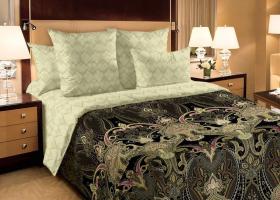 Комплект постельного белья семейный перкаль Визирь