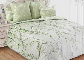 Комплект постельного белья семейный перкаль Весенний шепот