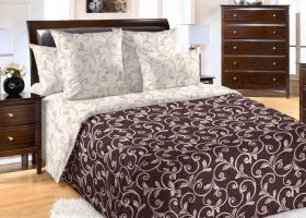 Комплект постельного белья семейный перкаль Сириус
