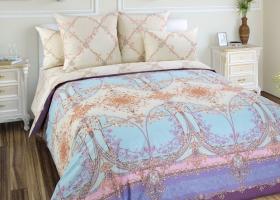 Комплект постельного белья семейный перкаль Стелла