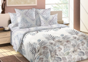 Комплект постельного белья семейный сатин Матильда