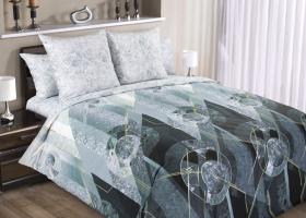 Комплект постельного белья евро перкаль Меркурий