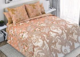 Комплект постельного белья евро перкаль Бенефис