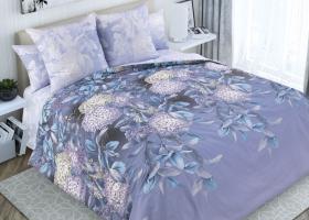 Комплект постельного белья семейный перкаль Ночная серенада