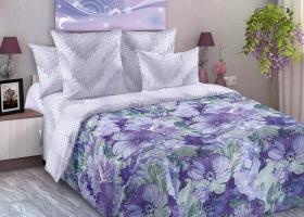 Комплект постельного белья семейный перкаль Блум
