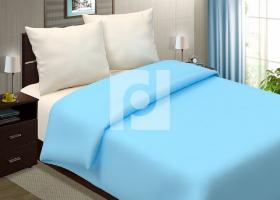 Комплект постельного белья семейный поплин однотонный Бриз