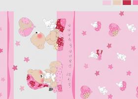 Комплект постельного белья детский поплин рис 1636 вид 4