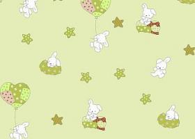 Комплект постельного белья детский поплин рис 1722 вид 3