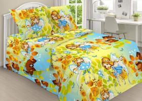 Комплект постельного белья детский поплин рис 1789