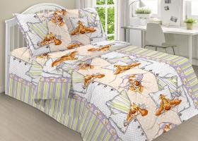 Комплект постельного белья детский поплин рис 1813