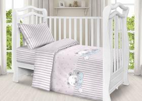 Комплект постельного белья детский поплин рис 2087
