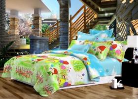 Комплект постельного белья 1,5сп поплин Детский мир