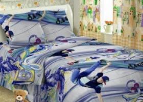 Комплект постельного белья 1,5сп поплин Скейтборд
