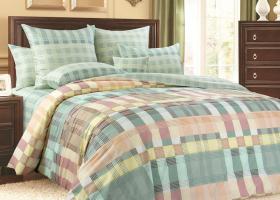 Комплект постельного белья евро сатин Соло