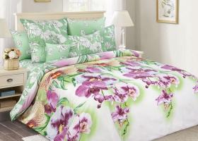 Комплект постельного белья семейный сатин Мальдивы