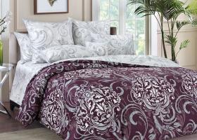 Комплект постельного белья семейный сатин Гранд