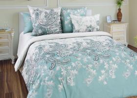 Комплект постельного белья евро сатин Маркиз 4