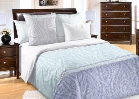 Комплект постельного белья семейный сатин Силуэт 5