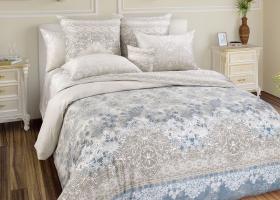 Комплект постельного белья семейный сатин Гипюр