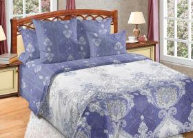 Комплект постельного белья евро сатин Шедевр 3