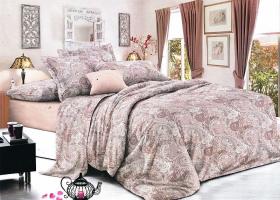 Комплект постельного белья 2сп сатин Алёна