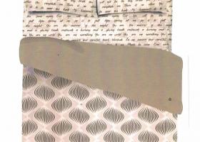 Комплект постельного белья 1,5сп сатин Силена