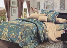 Комплект постельного белья 2сп сатин Вениамин