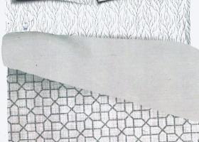 Комплект постельного белья 1,5сп сатин Ия