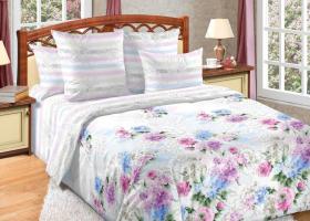 Комплект постельного белья семейный сатин Созерцание