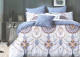 Комплект постельного белья 2сп сатин Маника