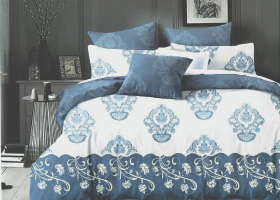 Комплект постельного белья евро сатин Агата