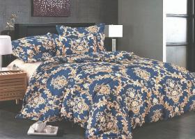 Комплект постельного белья семейный сатин Эмма