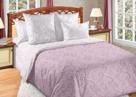 Комплект постельного белья евро сатин Танец ветра