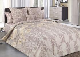 Комплект постельного белья евро сатин Элегант 5