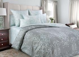 Комплект постельного белья семейный сатин Эпоха