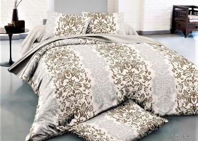 Комплект постельного белья семейный сатин Королевская эстетика