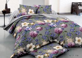 Комплект постельного белья евро сатин Мелодия тишины