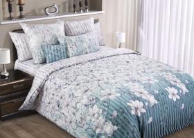 Комплект постельного белья евро сатин Мемуары 2