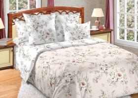Комплект постельного белья семейный сатин Виктория